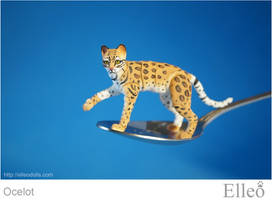 Ocelot Bjd Cat 05 by leo3dmodels