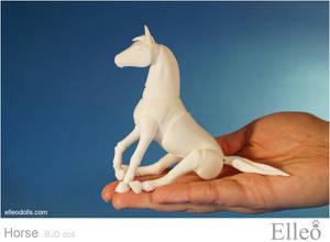 Horse bjd doll 01