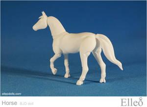 Horse bjd doll 04