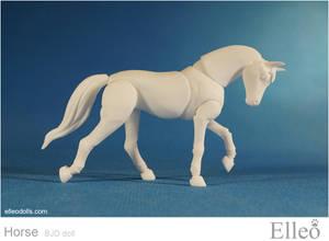 Horse bjd doll 05