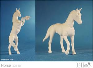 Horse bjd doll 07
