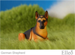 German Shepherd bjd doll 03
