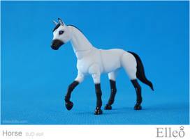 Horse mini bjd doll 02