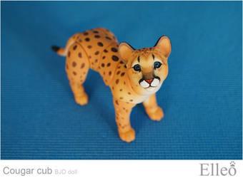 Cougar Cub Bjd Doll 09