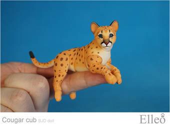 Cougar Cub Bjd Doll 01
