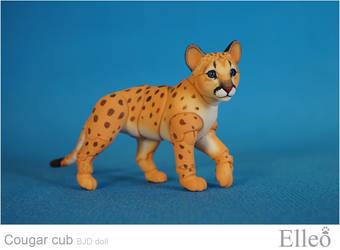 Cougar Cub Bjd Doll 02