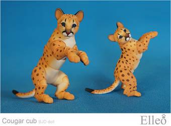 Cougar Cub Bjd Doll 06