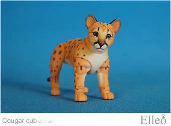 Cougar Cub Bjd Doll 08