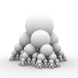 Bubble pyramid by subblue