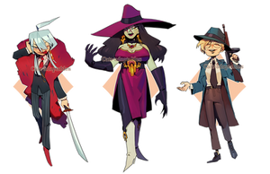 April gangsters??? -CLOSED THANK YOU! by Cate-adoptables