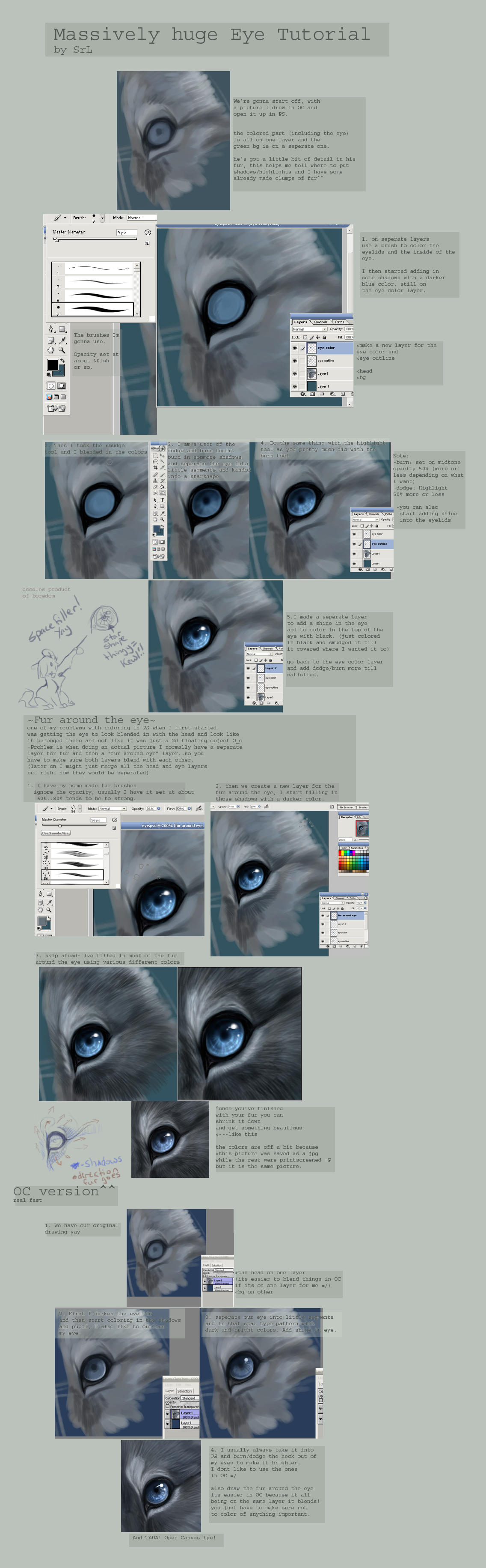 Animal Eye Tutorial by daisy7