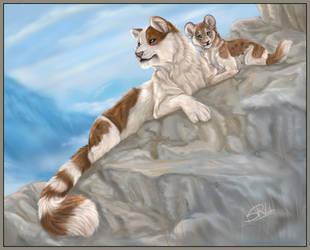 Mountain Cats by daisy7