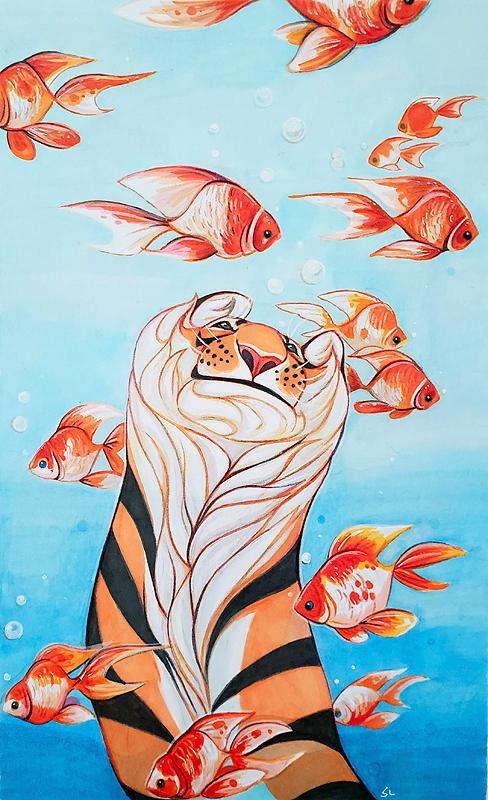 Tiger Fish by daisy7