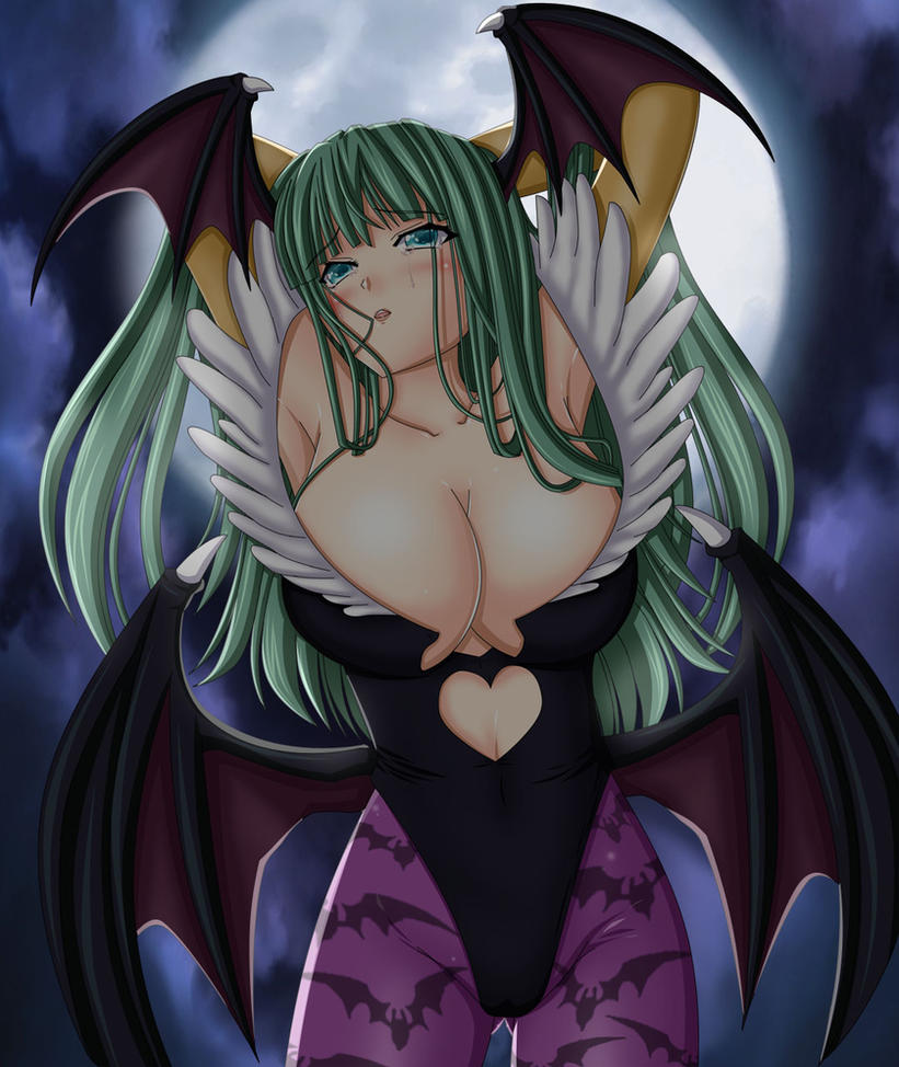 Darkstalkers : Morrigan Aensland by Artemisumi