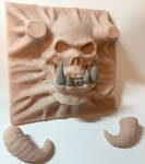 Skull - Orc demon 2 by WireClay