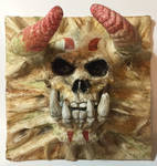 Skull - Orc Painted by WireClay