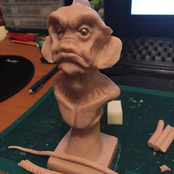Shape of water by WireClay