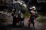Sister and Grey Knights