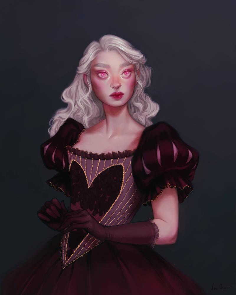Princess Of Hearts by sarucatepes