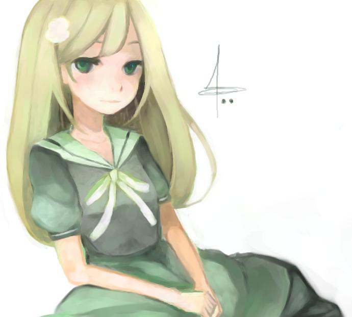pchat 33 - Sailor Dress Girl by suzettecrepe