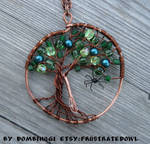 Witch Tree Pendant By Dombihugi