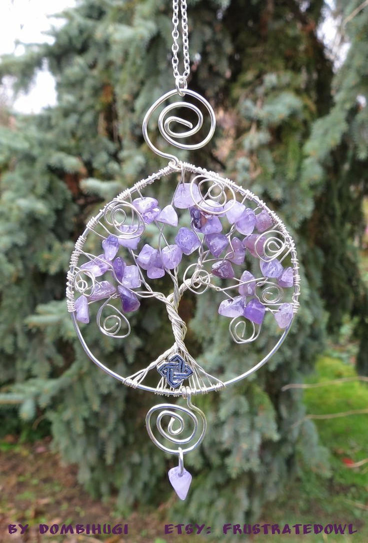 Fairy Tree pendant by DombiHugi