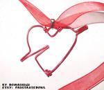 Heart and Arrow Valentine Choker by DombiHugi