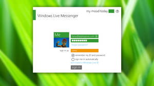 Metro Windows Live Messenger