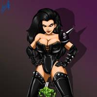 Dark Queen (battletoads) by Likhov
