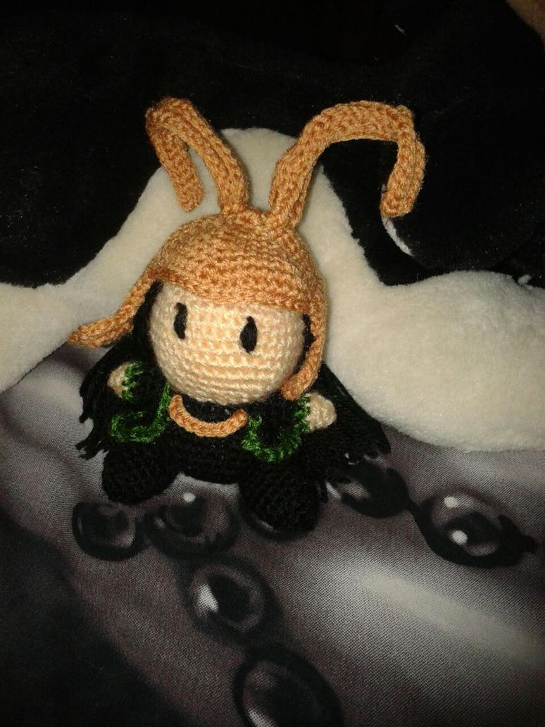 Loki Amigurumi Doll by Enkuchan