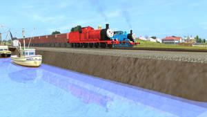 Trainz TTTE - Admiring Reflection