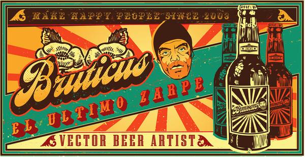 Bruticus beer by juniorfco
