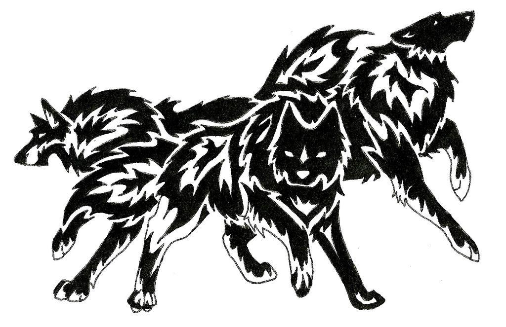 wolf tattoo art trade by redsoulwolf13 on deviantart