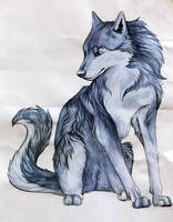 <b>Wolf With Watercolors</b><br><i>RedSoulWolf13</i>