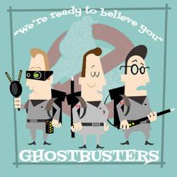 Ghostbusters by LosFuriasTiki