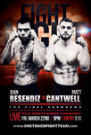 Fight Card - MMA Fight Card - (Sample Fight)