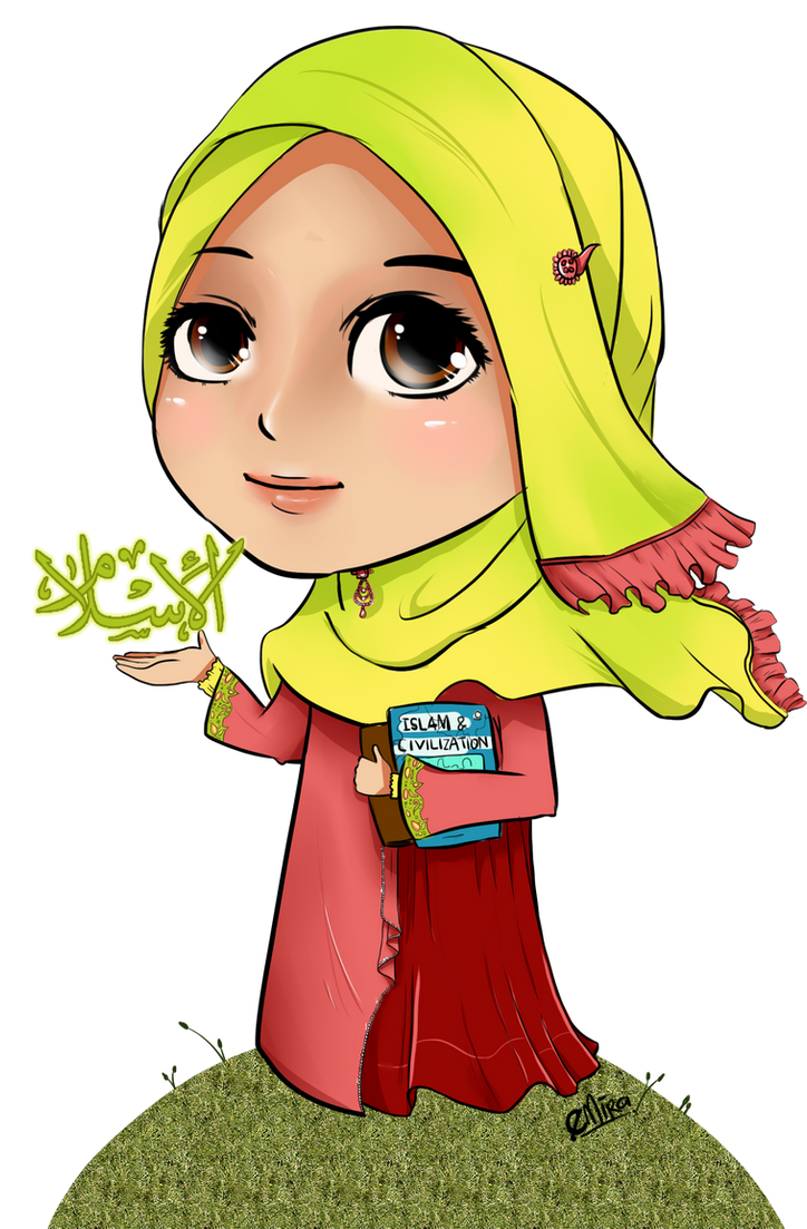 I Choose Islam Chibi Babyjepux On Deviantart Png 724x1102 Animation Fashion Anime Pictures