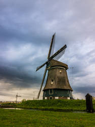 Windmill in Holland by VSeliott