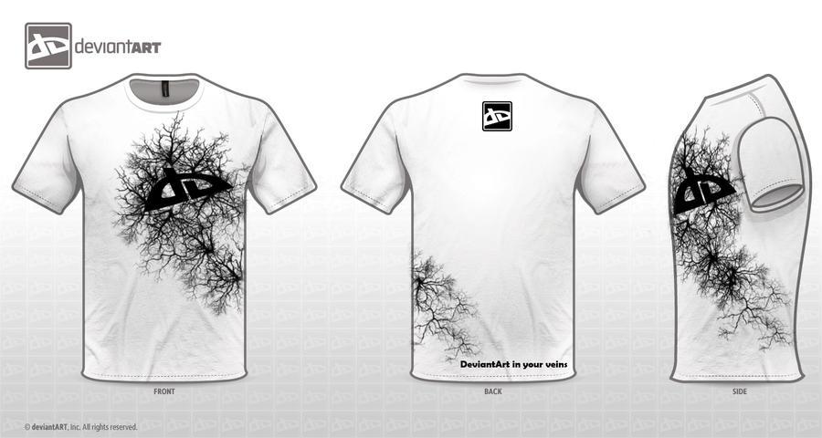 T-Shirt-InYourVeins-White by 0oKarurao0
