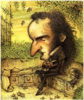 Paganini en silencio by faboarts