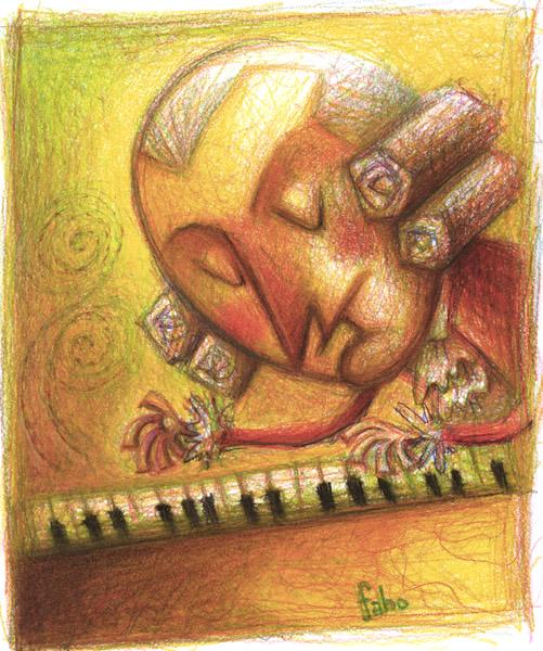 Mozart by faboarts