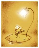 El violin. by faboarts