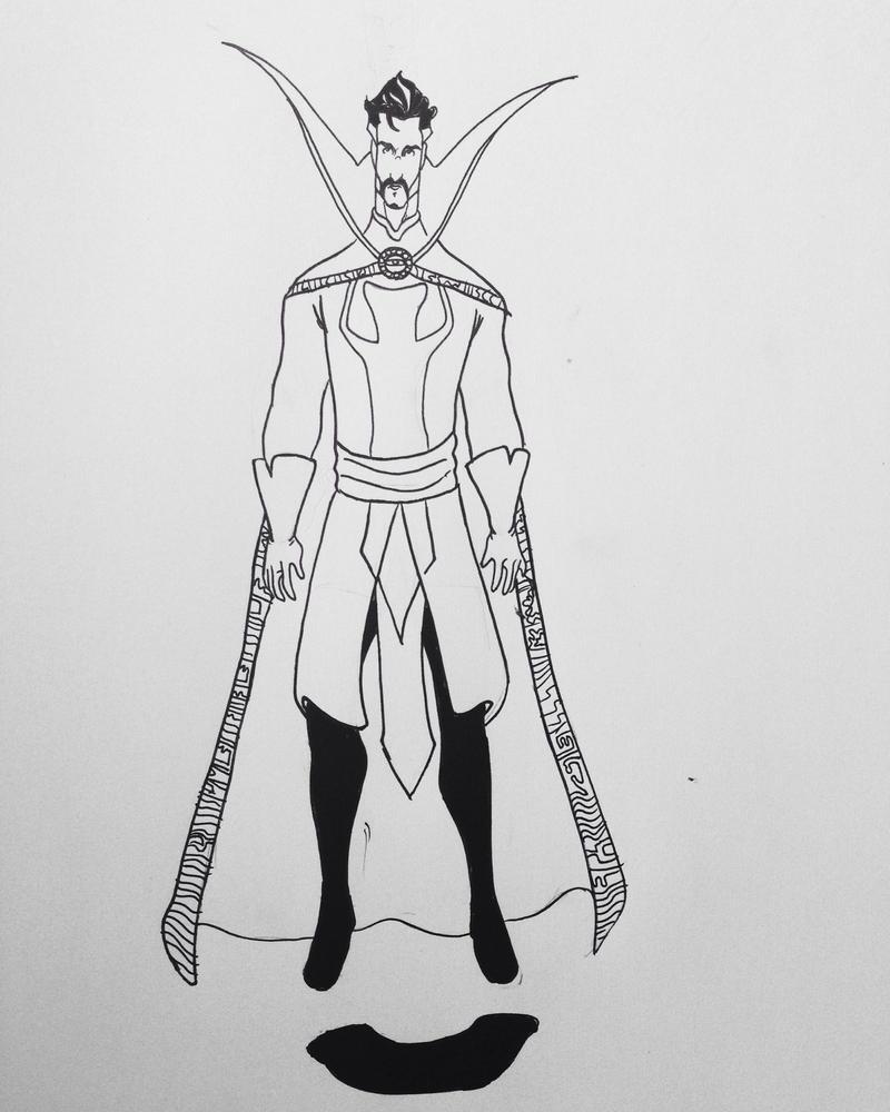 Doctor Strange by AgungSumedangArt