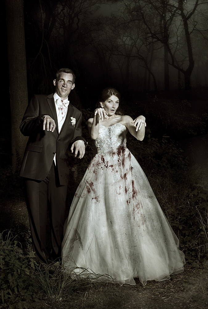 Zombie Wedding by JanRohwedder