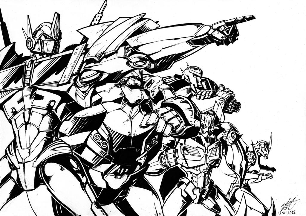 Predaking transformers coloring pages ~ MrPredaking's DeviantArt Favourites