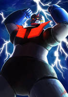 MAZINGER Z by Jeetdoh