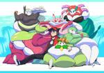Pokemon Gym, Zero Exercise