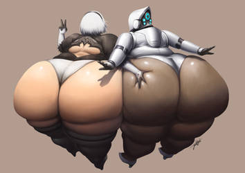 Real Bots Have Butts by Jeetdoh
