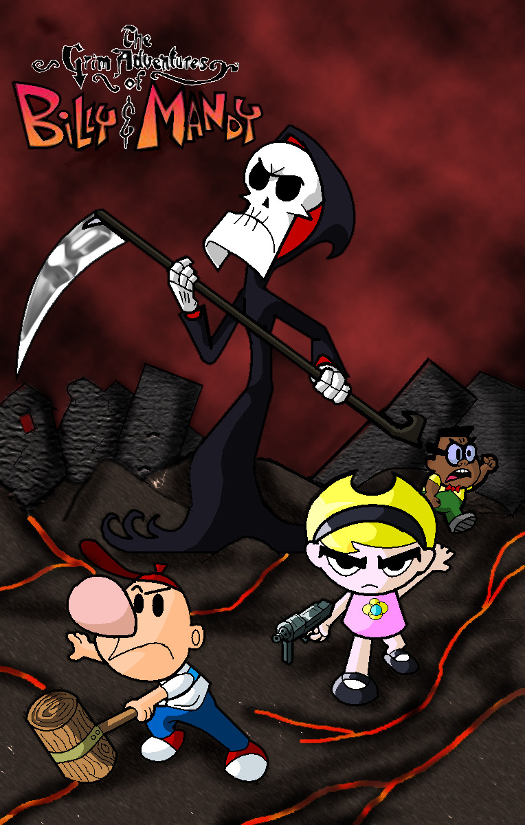 The Grim Adventures By Jeetdoh On Deviantart