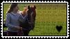 Horse Love Stamp by Hazelnut-Eyes